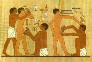 """""""La plus ancienne illustration de la circoncision connue à ce jour"""""""